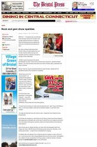 Bristol Press: Rock and Gem Show Sparkles