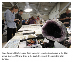 All that glitters: Gem and Mineral Show Shines Light on Enthusiasts